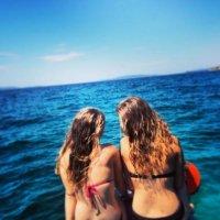 dwie kobiety nad morzem