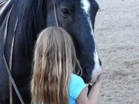 koń i dziecko